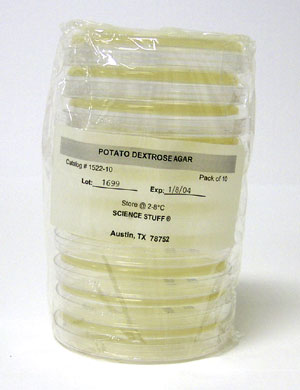 Dog Food Agar Tek