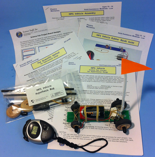 Science Fair Physics Project Kits